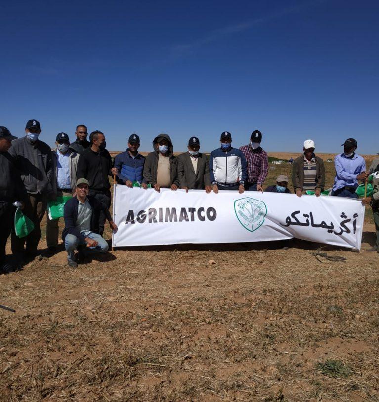 Rencontre sur la variété NATUNA dans la région de AGHBALOU
